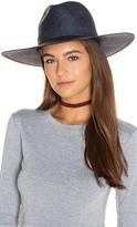 Janessa Leone Chloe Wide Brimmed Panama Hat