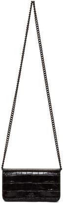 Balenciaga Black BB Phone Case Chain Shoulder Bag