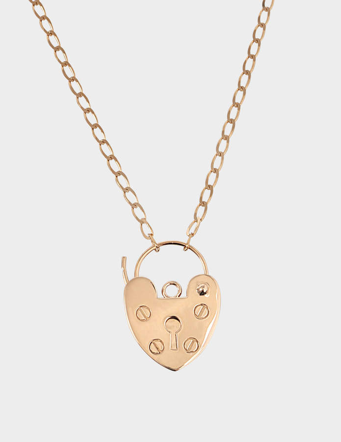 ginette_ny Providence 18-karat rose gold necklace