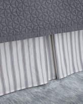 C & F Enterprises King Clementina Stripe Dust Skirt