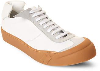 Cinzia Araia White Wulki Leather Low-Top Sneakers