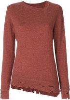 Etoile Isabel Marant Étoile Kelia grunge sweater - women - Cotton/Wool - 38