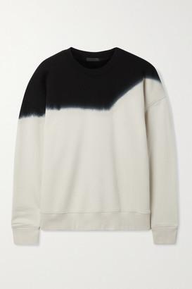 ATM Anthony Thomas Melillo Tie-dyed Cotton-jersey Sweatshirt - Cream
