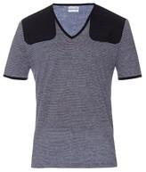 Michael Bastian Striped Linen T-shirt