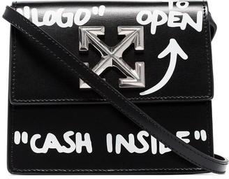 Off-White Jitney 0.7 Cash Inside crossbody bag