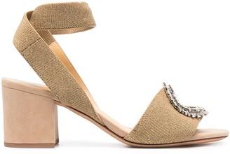 Alexandre Birman Crystal-Embellished Sandals