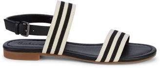 Splendid Andrew Striped Slingback Sandals