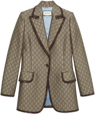 Gucci GG wool canvas jacket