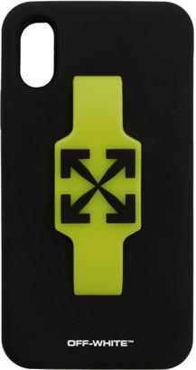 Off-White Black Arrows Finger Grip iPhone XR Case