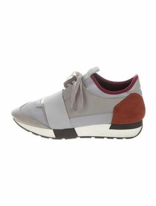 Balenciaga Race Runner Athletic Sneakers Grey