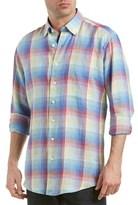 Mine Apparel Inc Linen Woven Shirt.