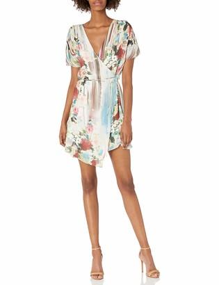 Haute Hippie Women's French Riviera Wrap Dress