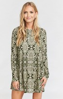 MUMU Tyler Tunic Dress ~ Olive You Spandy