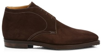 Corthay Chukka Pullman Suede Boots