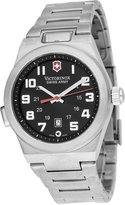 Victorinox Men's Night Vision II 241130 Silver Stainless-Steel Quartz Watch with Dial