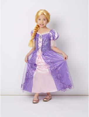 Disney George Princess Rapunzel Fancy Dress Costume