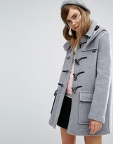 Gloverall Classic Duffle Coat with Detachable Hood