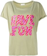 Faith Connexion have fun printed T-shirt - women - Cotton - XS