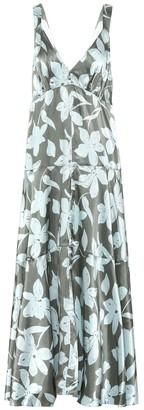 Lee Mathews Momo floral midi dress