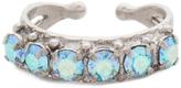 Sorrelli Blue & Silvertone Ring With Swarovski® Crystals