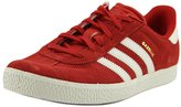 adidas Youths Gazelle 2.0 Red Suede Trainers US