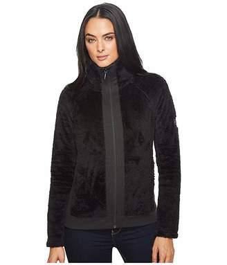 The North Face Furry Fleece Full Zip (TNF Black) Women's Fleece