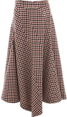 J.W.Anderson Seamed Spiral Skirt