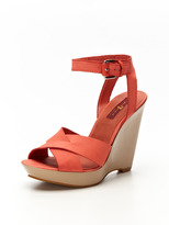 7 For All Mankind Tiarra Wedge Sandal