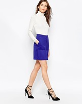 French Connection Marie Stretch Mini Skirt