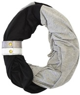 Infant Itzy Ritzy Infinity Nursing Scarf With Leather Cuff