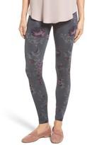 Hue Women's Floral Seamless Leggings