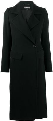 Ann Demeulemeester Single-Breasted Long Coat