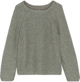 Current/Elliott The Slouchy metallic cotton-blend sweater