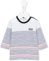 Boss Kids - striped jumper - kids - Cotton - 18 mth