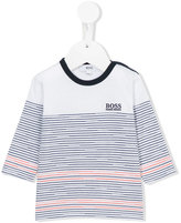 Boss Kids - striped jumper - kids - Cotton - 6 mth