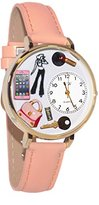 Whimsical Watches Women's G1610008 Teen Girl Pink Leather Watch
