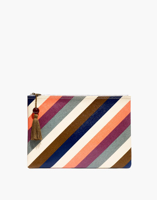 Madewell Large Tassel Zip Pouch