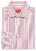Isaia Striped Button-Front Shirt