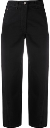 Lemaire High-Waisted Cropped Jeans