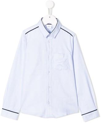 Boss Kidswear Check Print Shirt