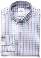 Ben Sherman Men's Gingham Buttondown Collar Dress Shirt, Multi