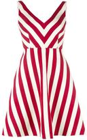 RED Valentino striped dress - women - Silk/Cotton/Polyester/Acetate - 42