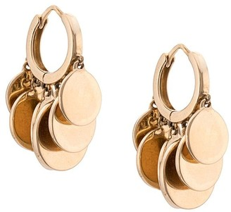 Jacquie Aiche 14kt yellow gold mini disco hoops