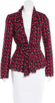 Oscar de la Renta Bouclé Evening Jacket