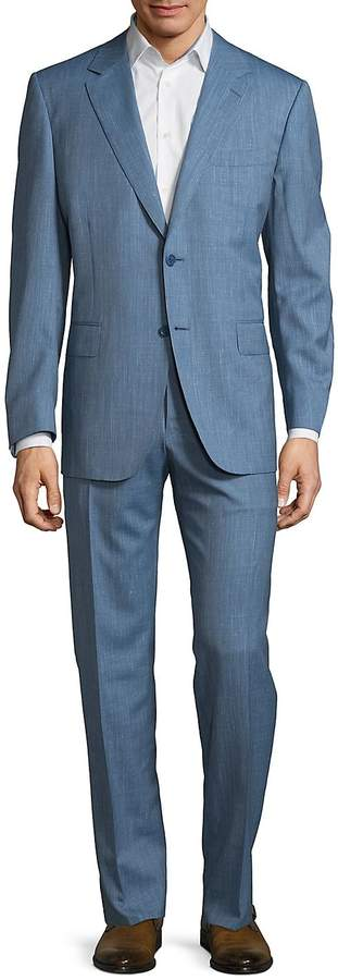 Canali Men's Two-Piece Textured Suit