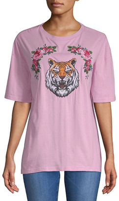 Lea & Viola Tiger & Rose T-Shirt