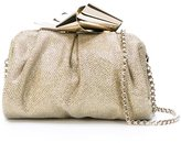 Jimmy Choo 'Cara' clutch - women - Nylon - One Size