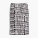J.Crew Petite pencil skirt in lightweight tweed