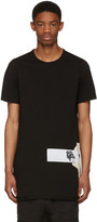Rick Owens Black Level Patch Logo T-Shirt
