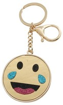 Trimmings Women's Key Ring Smiley Crying Laughing- Multicolor